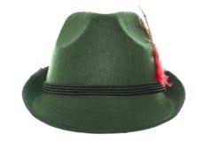 Chapéu bávaro verde Imagens de Stock