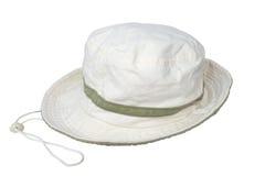 Chapéu branco Imagens de Stock