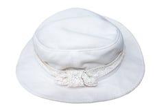Chapéu branco Imagem de Stock