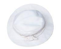 Chapéu branco Imagens de Stock Royalty Free