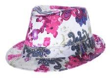 Chapéu brilhante com uma borda Foto de Stock