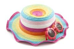 Chapéu colorido fotografia de stock royalty free