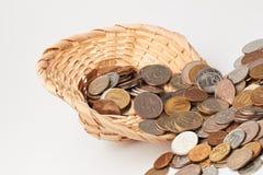 Chapéu com dinheiro Imagens de Stock Royalty Free