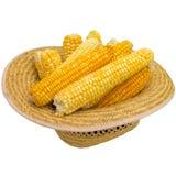 Chapéu com milho Imagem de Stock Royalty Free