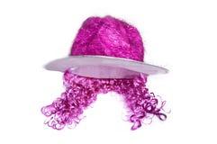 Chapéu cor-de-rosa Fotos de Stock