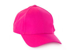 Chapéu cor-de-rosa do tampão Imagem de Stock
