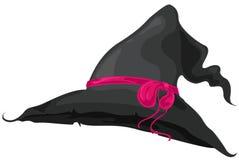 Chapéu da bruxa Imagens de Stock