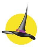 Chapéu da bruxa Imagem de Stock Royalty Free