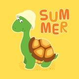 Chapéu da cubeta da tartaruga Imagens de Stock Royalty Free