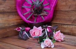 Chapéu da flor Imagens de Stock