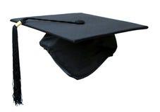 Chapéu da graduação fotografia de stock
