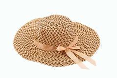 Chapéu da mulher do verão Imagens de Stock