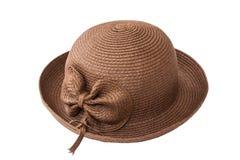Chapéu da senhora da forma Fotos de Stock Royalty Free