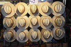 Chapéu de bambu Foto de Stock