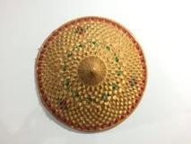 Chapéu de bambu Imagem de Stock