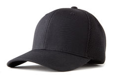 Chapéu de basebol preto Imagem de Stock Royalty Free
