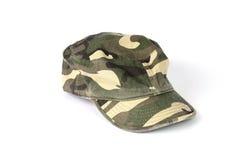 Chapéu de Camo Fotos de Stock Royalty Free