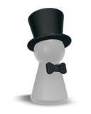 Chapéu de coco Imagens de Stock