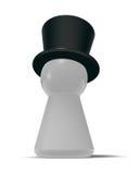 Chapéu de coco Imagens de Stock Royalty Free