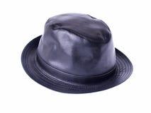 Chapéu de couro Fotografia de Stock Royalty Free