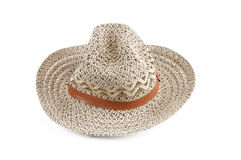Chapéu de palha Imagens de Stock Royalty Free