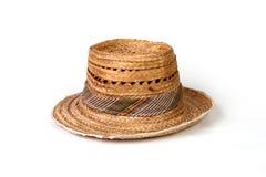 Chapéu de palha Fotografia de Stock Royalty Free