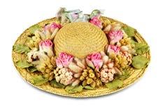 Chapéu de palha 2 Imagem de Stock Royalty Free