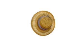 Chapéu de palha Fotografia de Stock
