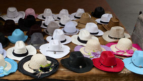 Chapéu de Panamá Fotos de Stock Royalty Free