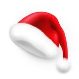 Chapéu de Papai Noel ilustração royalty free