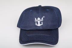 Chapéu de Royal Caribbean imagem de stock royalty free