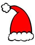 Chapéu de Santa ilustração royalty free