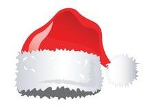Chapéu de Santa Imagens de Stock
