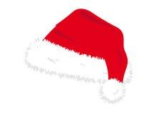 Chapéu de Santa Fotografia de Stock