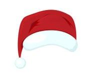 Chapéu de Santa Claus Fotografia de Stock Royalty Free