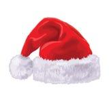 Chapéu de Santa Claus Fotos de Stock