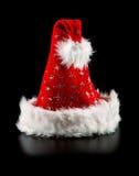 Chapéu de Santa com estrelas Foto de Stock