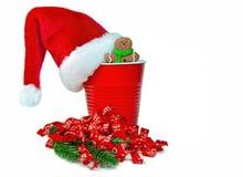 Copo da festa de Natal Imagem de Stock