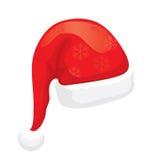 Chapéu de Santa (vetor) Fotografia de Stock