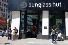 Chapéu de Sunglass Fotografia de Stock Royalty Free