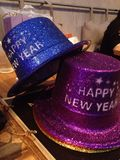 Chapéu do ano novo feliz Imagem de Stock