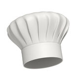 Chapéu do cozinheiro chefe - ícone - isolado Fotos de Stock Royalty Free