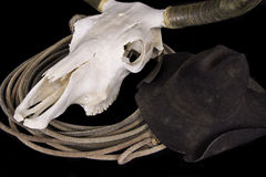 Chapéu do crânio Foto de Stock Royalty Free