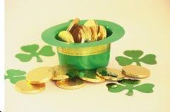Chapéu do dia de St Patrick Foto de Stock