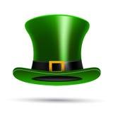 Chapéu do dia de St Patrick verde ilustração do vetor