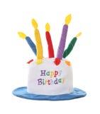 Chapéu do feliz aniversario Foto de Stock Royalty Free