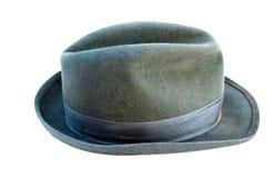 Chapéu do homem cinzento Fotografia de Stock