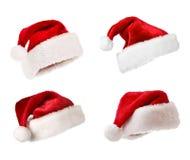 Chapéu do Natal Fotografia de Stock Royalty Free