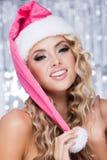 Chapéu do Natal Imagem de Stock
