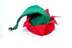 Chapéu do Natal do duende imagens de stock royalty free